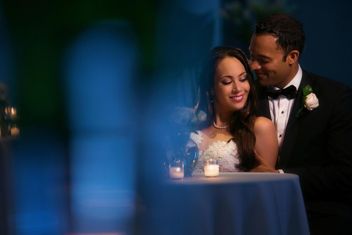 bride and groom Landerhaven wedding reception