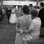 Three generations on the wedding day