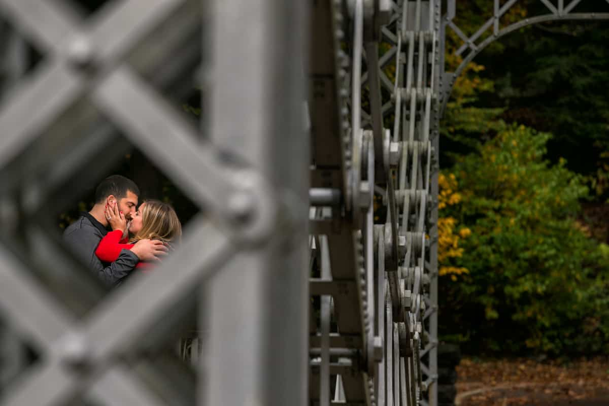 engagement picture in willoughby