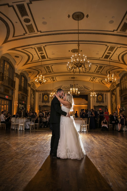 pullback of first dance at tudor arms
