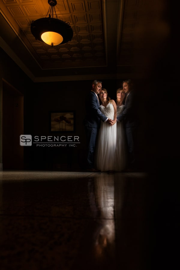 wedding picture at greystone hall