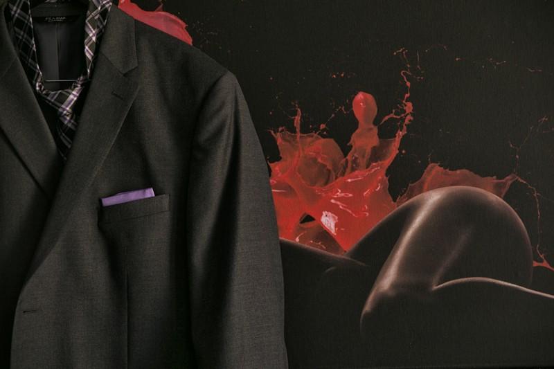 grooms jacket in metropolitan room