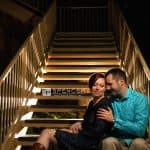 Dom and Cassie's Engagement Pictures At Firestone Country Club