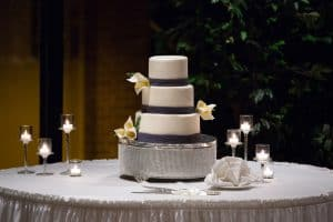Christmas Wedding Reception at Firestone Country Club