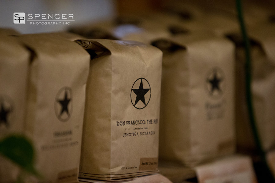 wedding day at rising star coffee cleveland