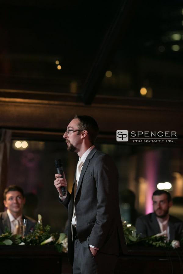 best man speech music box supper club
