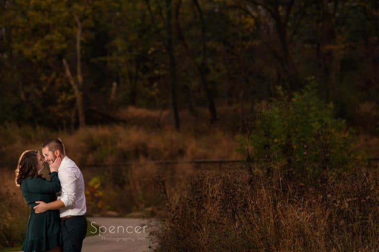 Engagement Pictures at Brandywine Falls