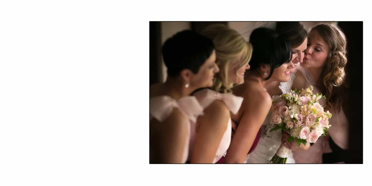 Picture of bridesmaids at Hillbrook