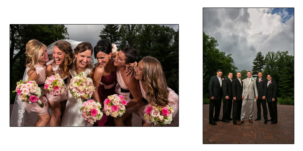 More bridal party pictures
