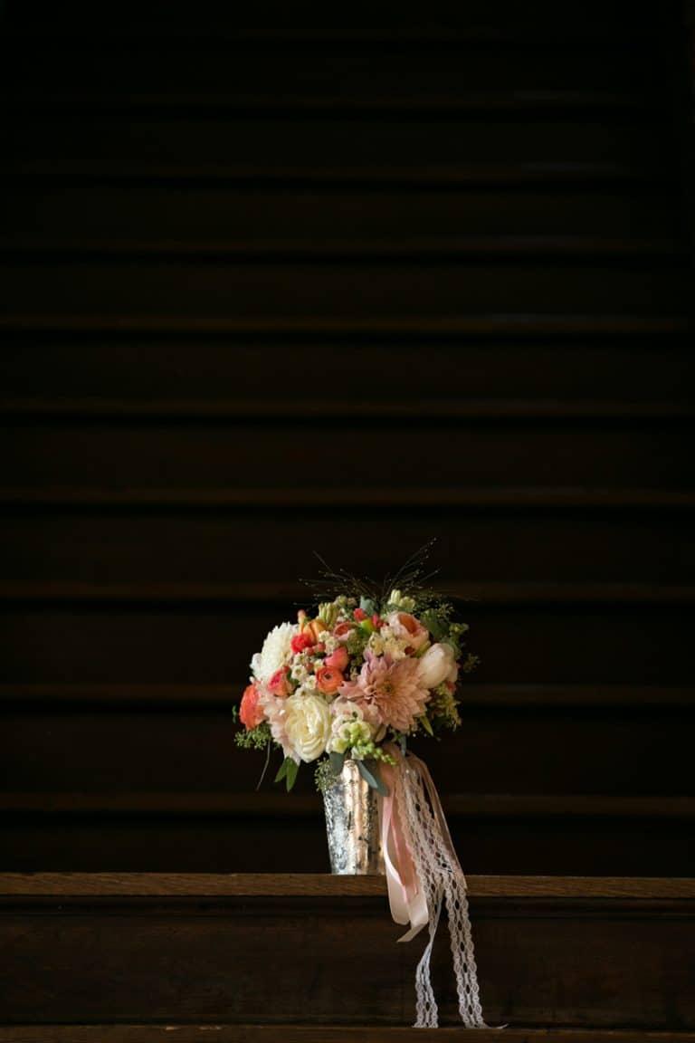 brides bouquet at Cleveland Tudor Arms