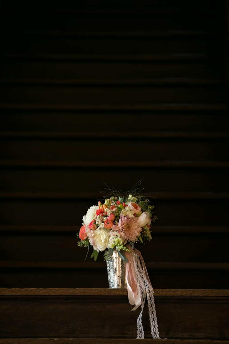 brides bouquet at Cleveland Tudor Arms
