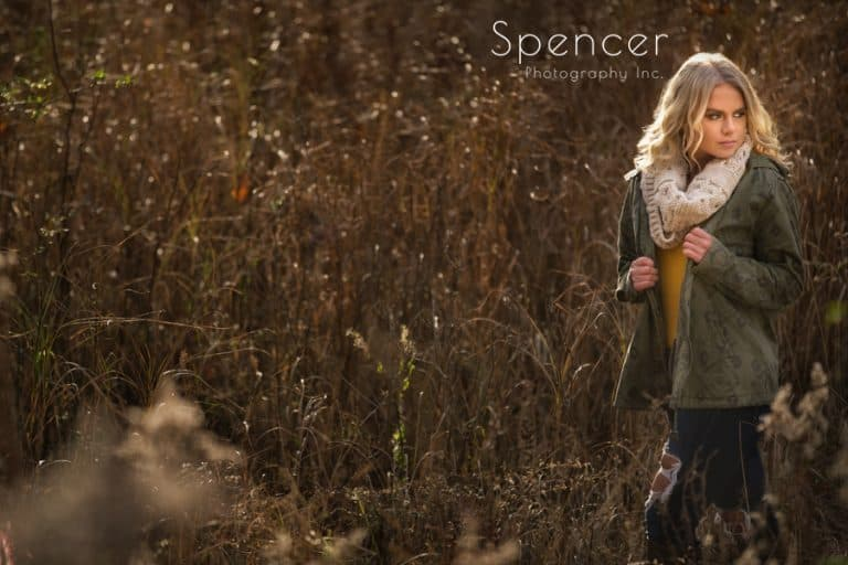 Laura's Senior Pictures in Akron