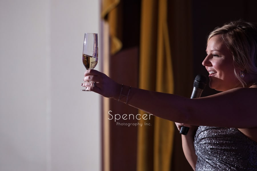 matron of honor toast at renaissance