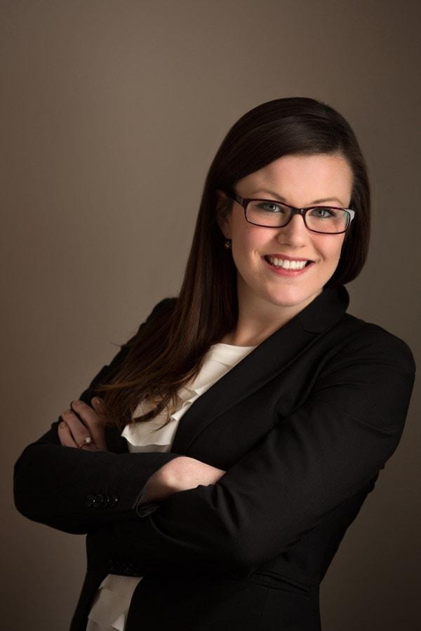 female professional headshot in cleveland