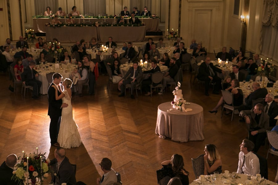 first dance wedding reception greystone hall