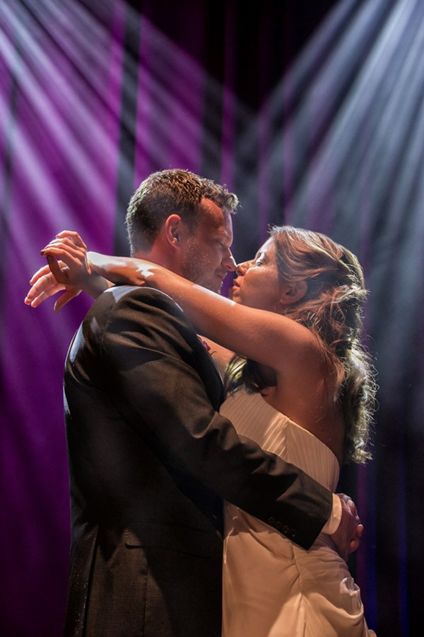 First dance at House of Blues wedding reception