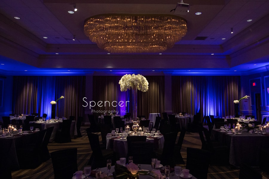 Wedding Details: A Reception at Akron Hilton