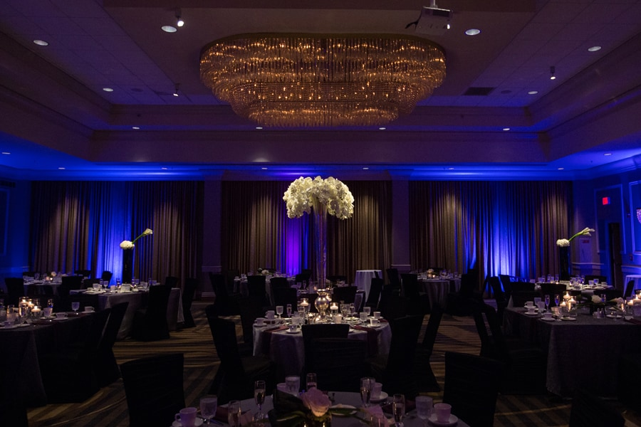 wedding reception decorated by neil leeson