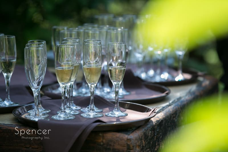 champagne at thorncreek winery