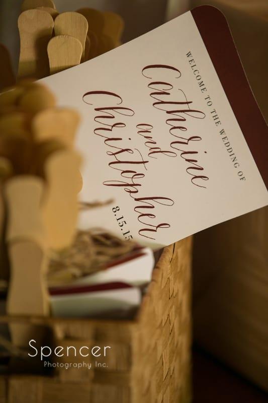 thorncreek winery wedding program
