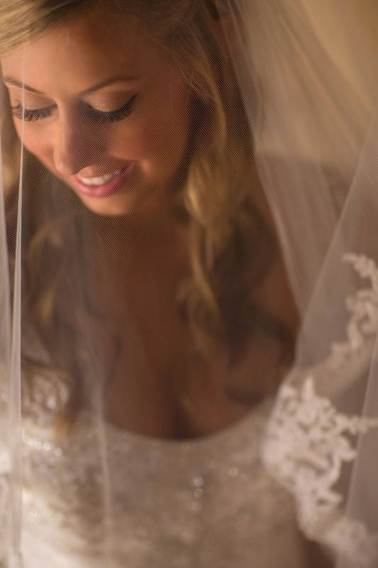 bride portrait at cuyahoga falls sheraton