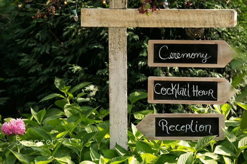 wedding ceremony at thorncreek winery