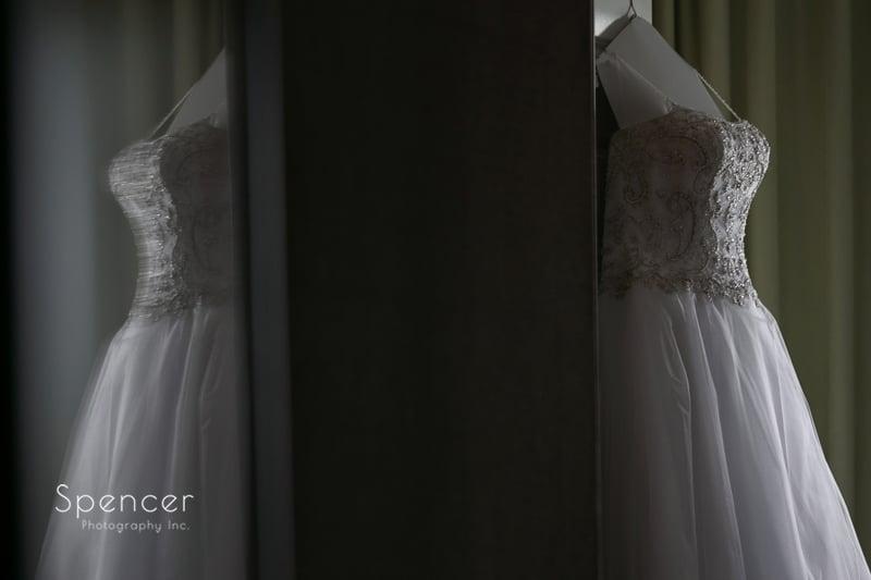 wedding dress at the bertram