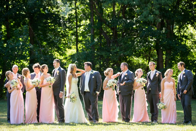 wedding party in cuyahoga falls metropark