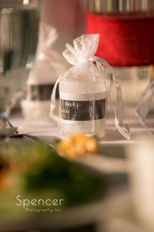 wedding reception detail at thorncreek reception