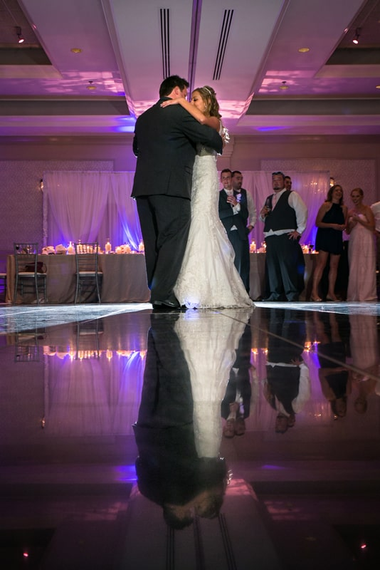 first dance at cuyahoga falls sheraton wedding reception