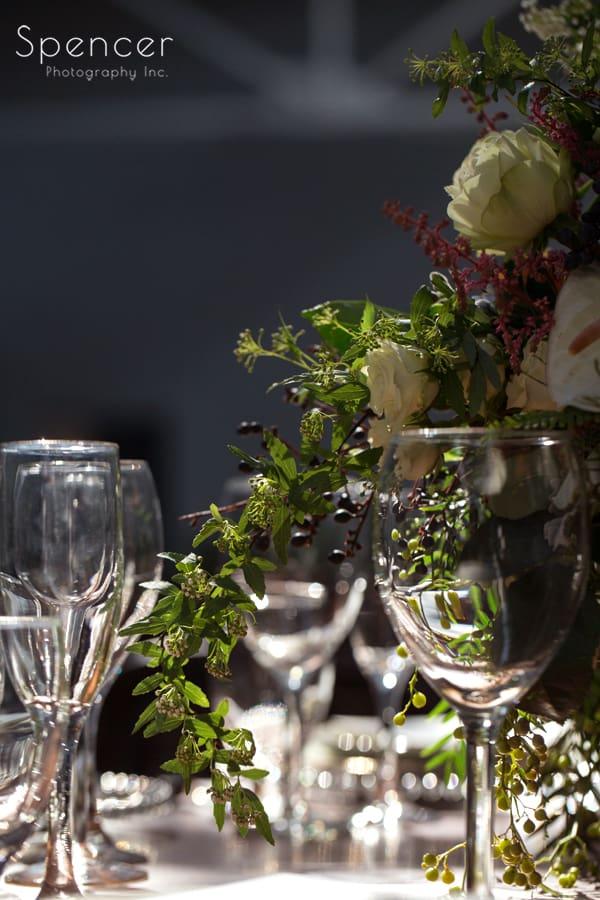 Cleveland Madison wedding reception table
