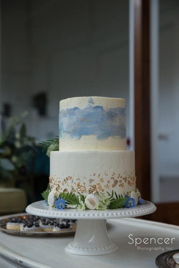 wedding cake at The Madison Cleveland