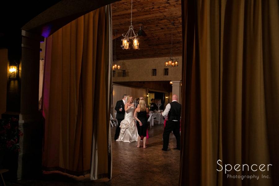 wedding reception at Gervasi Vineyard