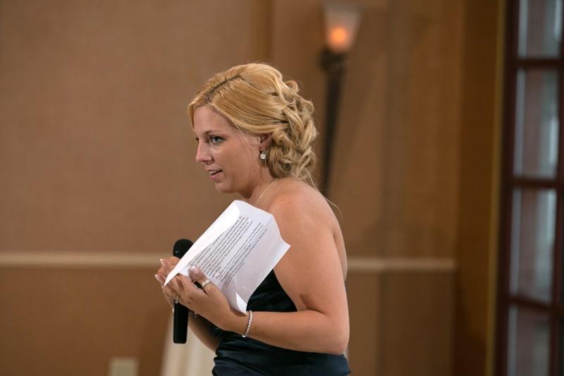 maid of honor speech at st. clair ballroom