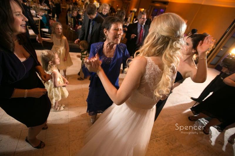 bride dancing with grooms mom