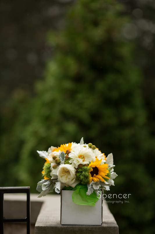 brides bouquet at Mayfield Country Club
