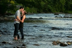 Engagement Pictures in Chagrin Falls – Cleveland Engagement Photographer