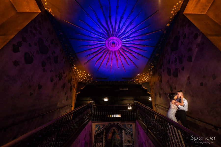 house of blues wedding picture