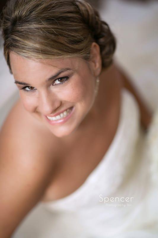 bridal portrait of cleveland bride