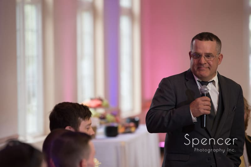 father of the groom reception speech