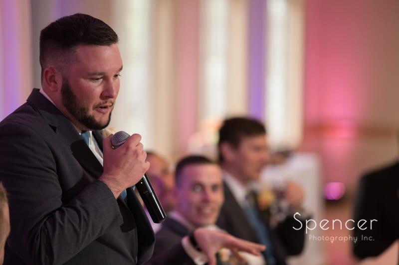 best man reception speech