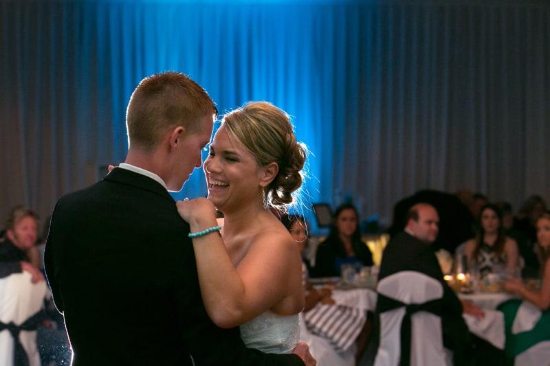 first dance at LaMalfa wedding reception