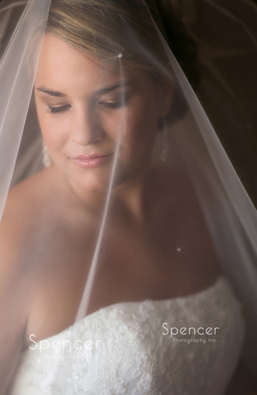 cleveland bride in wedding day picture