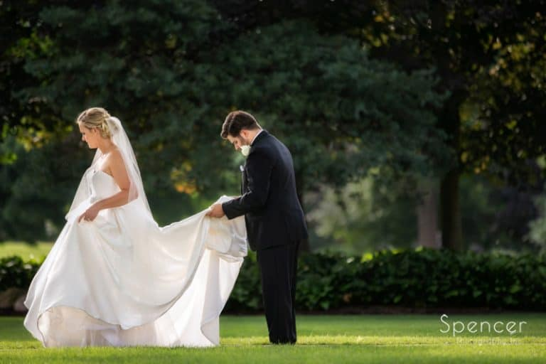 Firestone Country Club Wedding Reception // Akron Wedding Reception