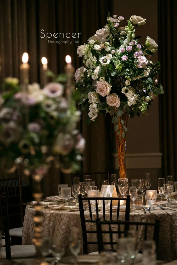 wedding reception centerpiece by Peter Bouterse