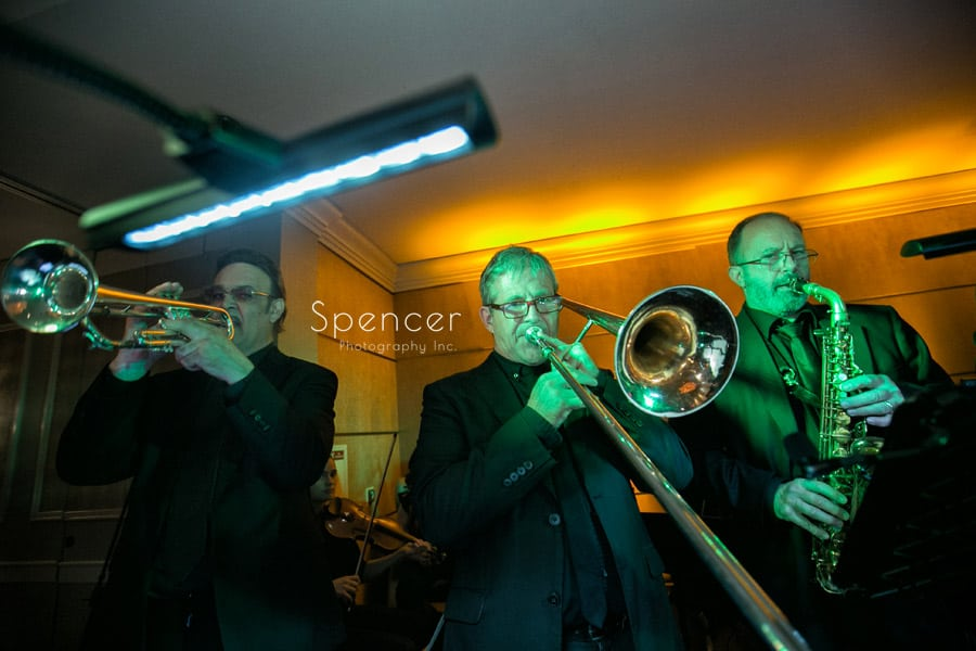 wedding reception in akron with cleveland music group orchestra
