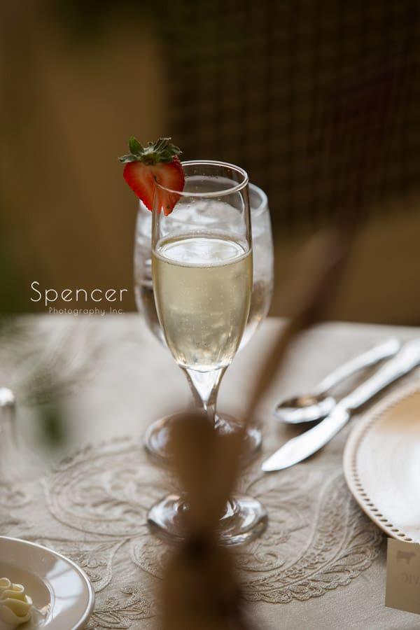 Greystone Hall Wedding champagne