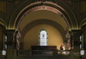 Wedding Ceremony at St. Colman Church Cleveland