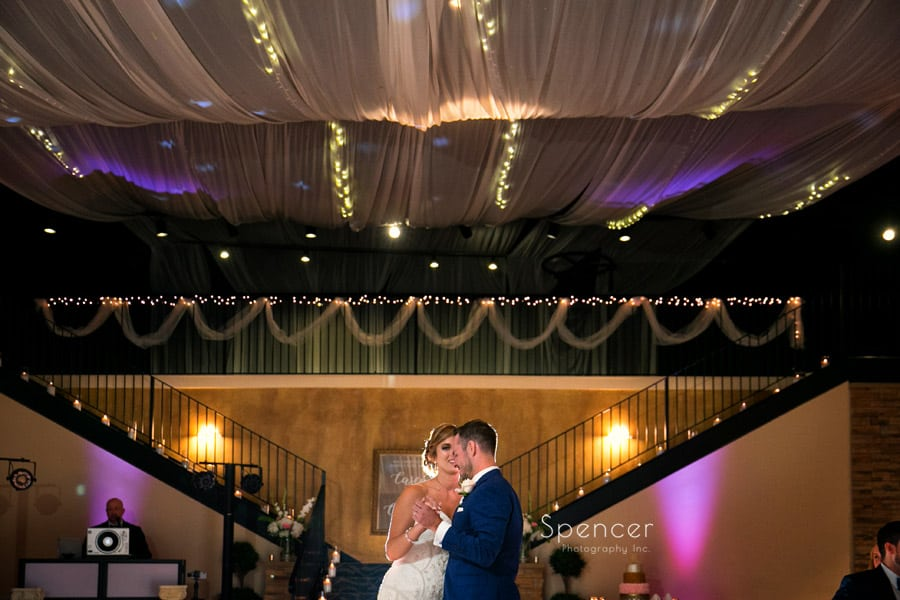 Wedding Reception at Antonelli Event Center // Cleveland Photographer