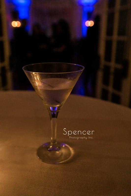 cocktail at wedding reception Greystone Hall